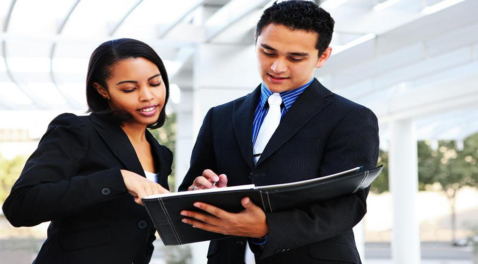 diverse_business_man_and_woman_40435468